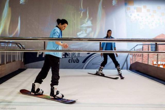 ski simulartor